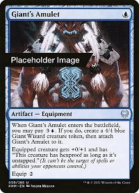 Giant's Amulet image