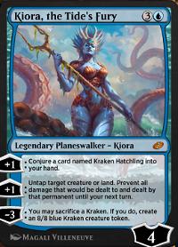 Kiora, the Tide's Fury image