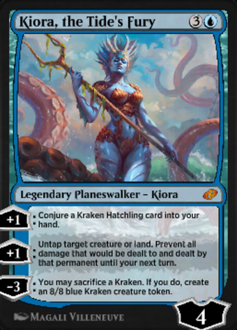 """Kiora, Wrath of the Tides"" image"