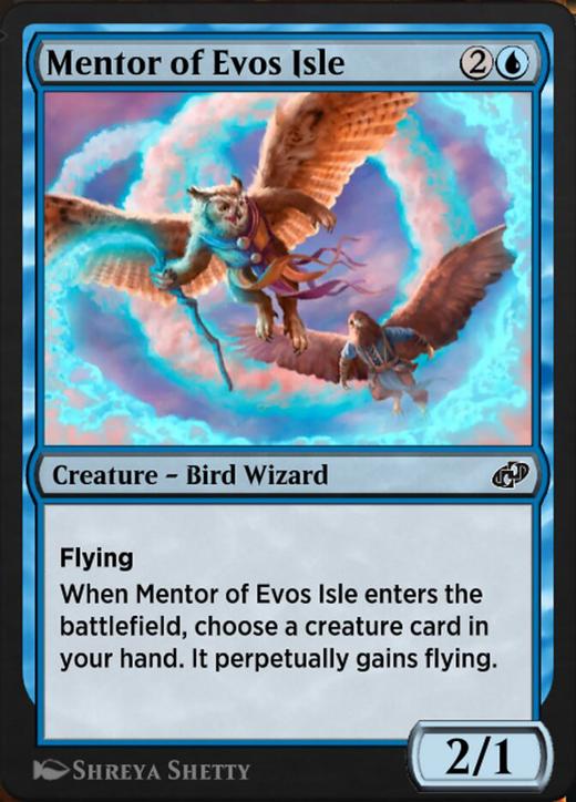 Mentor of Evos Isle image