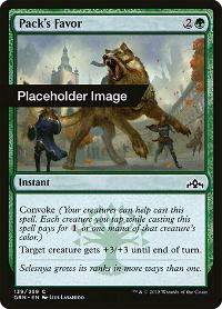 Pack's Favor image