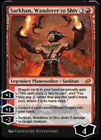 Sarkhan, Wanderer to Shiv image