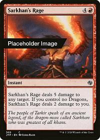 Sarkhan's Rage image