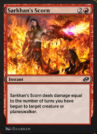 Sarkhan's Scorn image