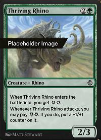 Thriving Rhino image
