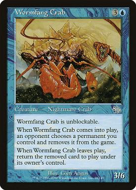 Wormfang Crab image