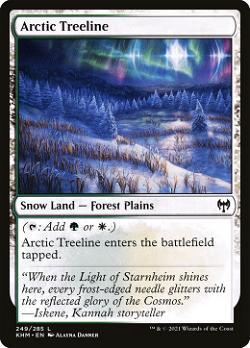 Arctic Treeline image