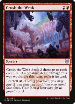 Crush the Weak image