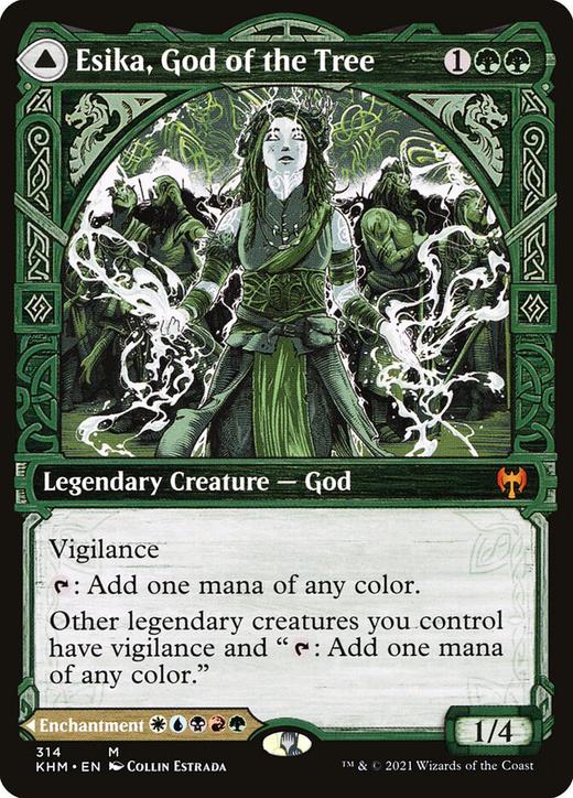 Esika, God of the Tree // The Prismatic Bridge image