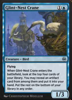 Glint-Nest Crane image