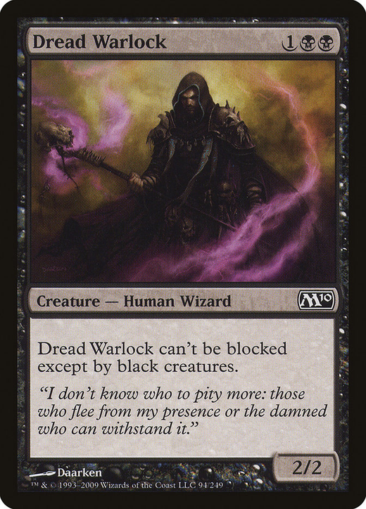 Dread Warlock image