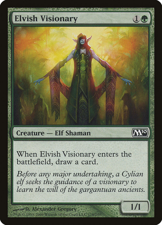 Elvish Visionary image