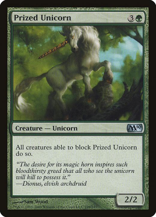 Prized Unicorn image