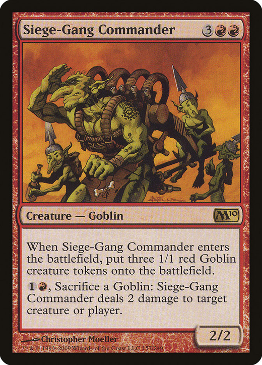 Siege-Gang Commander image