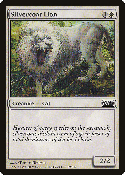 Silvercoat Lion image