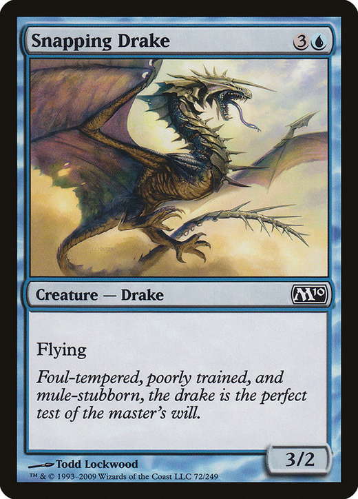 Snapping Drake image