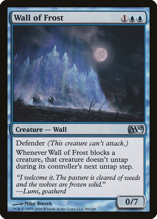 Wall of Frost image