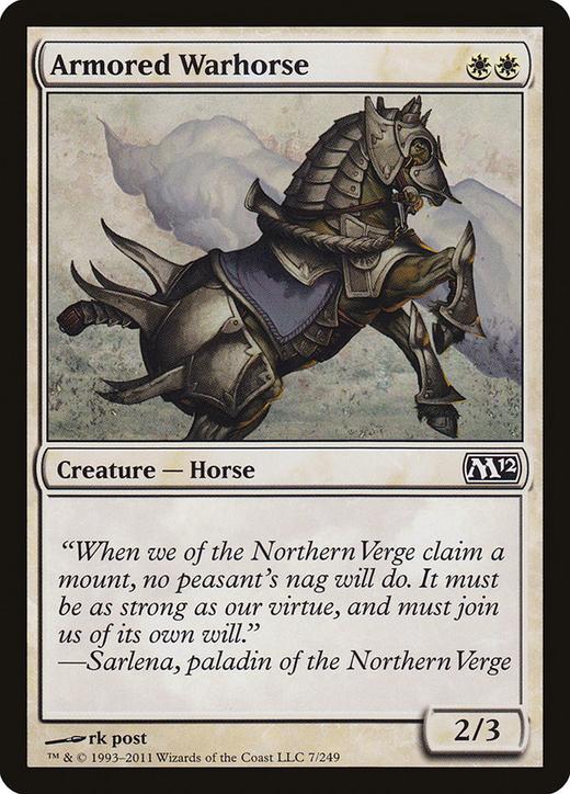 Armored Warhorse image