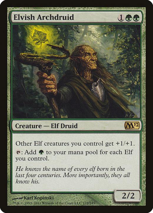 Elvish Archdruid image