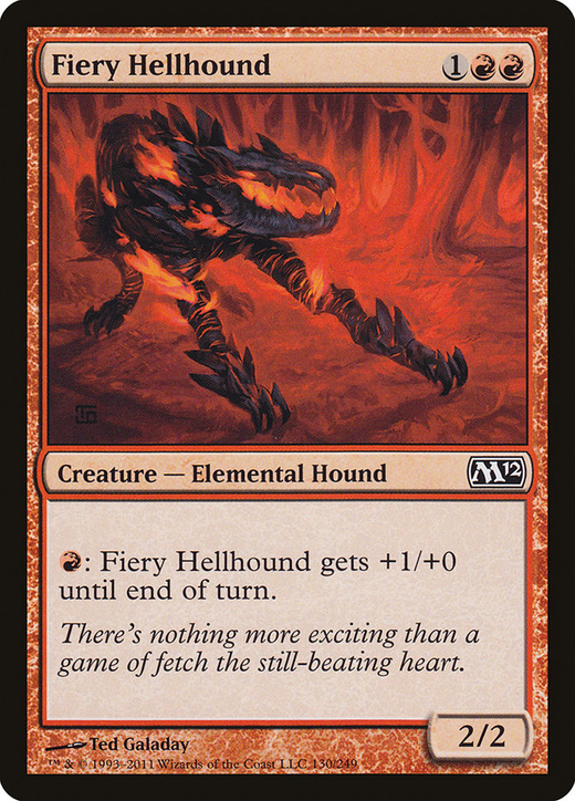 Fiery Hellhound image