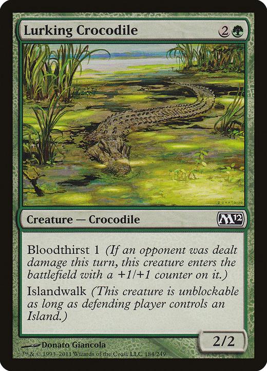 Lurking Crocodile image
