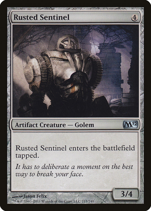 Rusted Sentinel image
