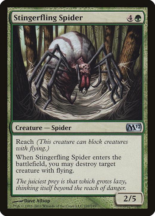 Stingerfling Spider image