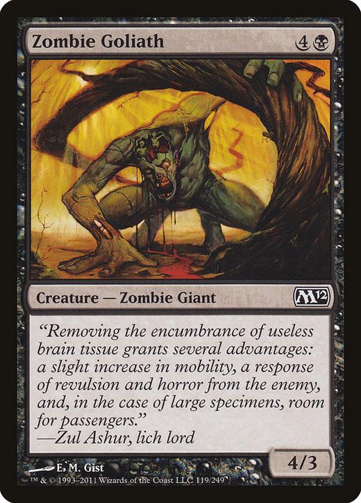 Zombie Goliath image