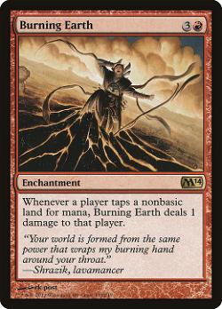 Burning Earth image