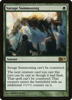 Savage Summoning image