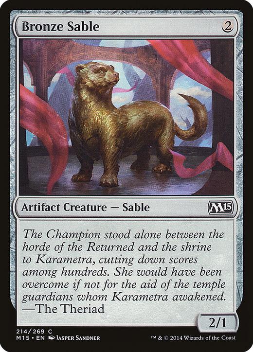 Bronze Sable image