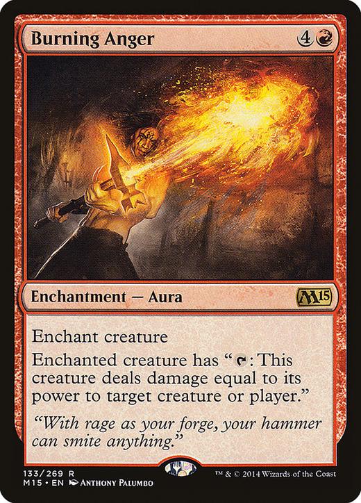 Burning Anger image