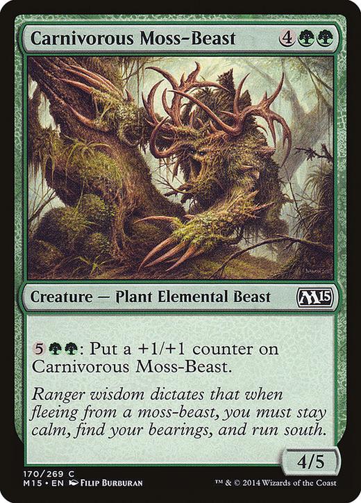 Carnivorous Moss-Beast image