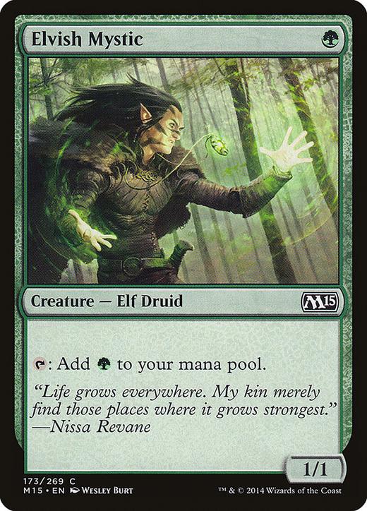 Elvish Mystic image