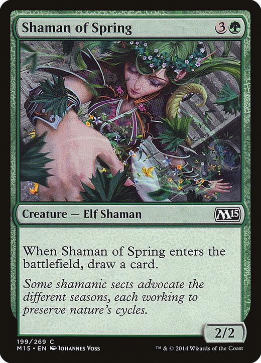 Shaman of Spring image