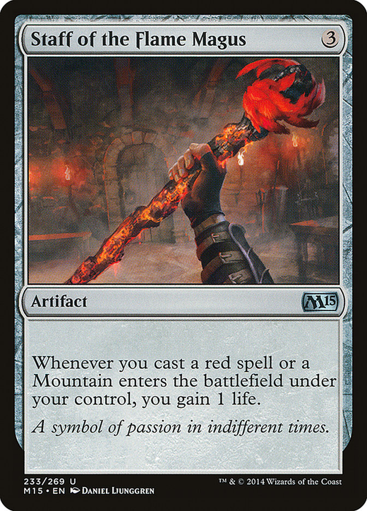 Staff of the Flame Magus image