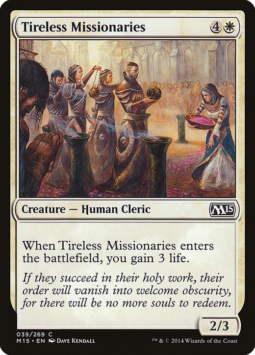 Tireless Missionaries image