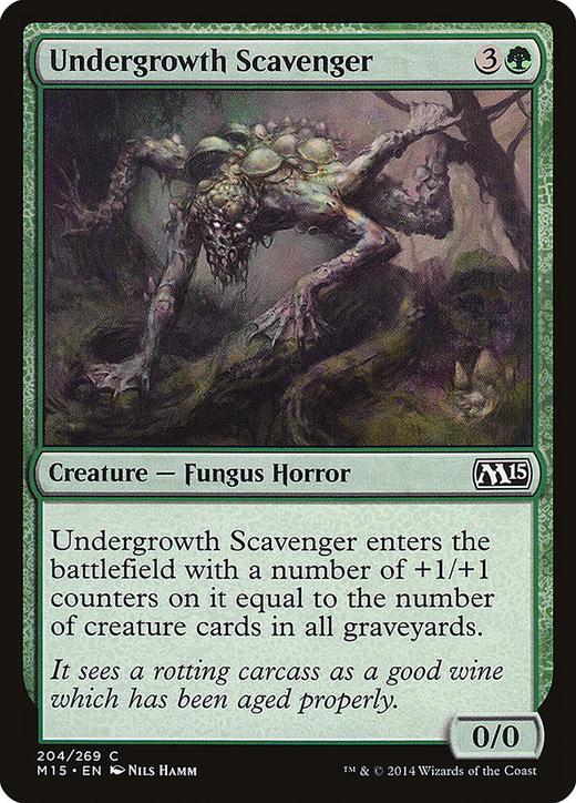 Undergrowth Scavenger image