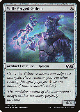 Will-Forged Golem image