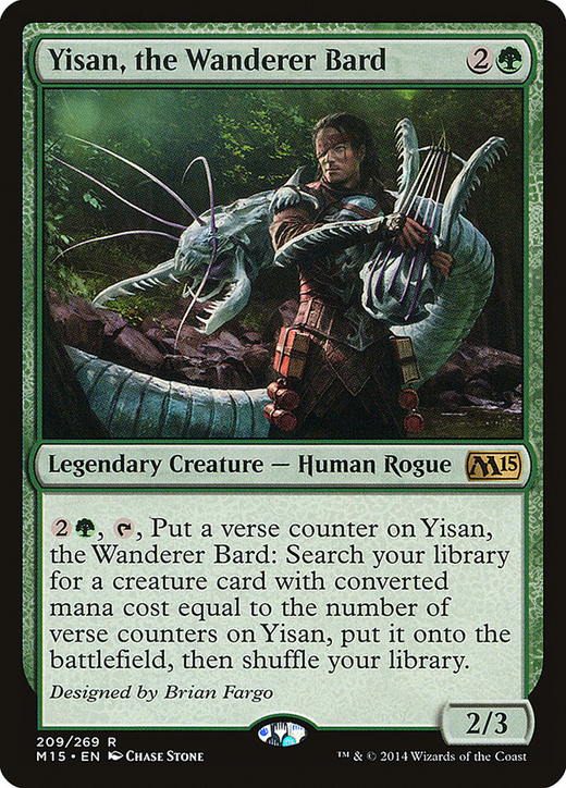 Yisan, the Wanderer Bard image
