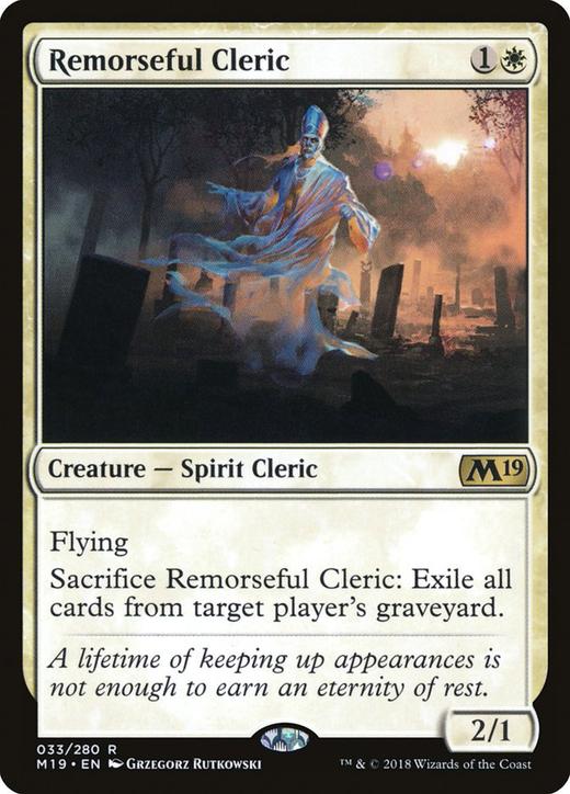 Remorseful Cleric image