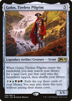 Golos, Tireless Pilgrim image