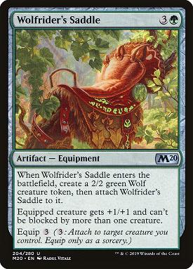Wolfrider's Saddle image
