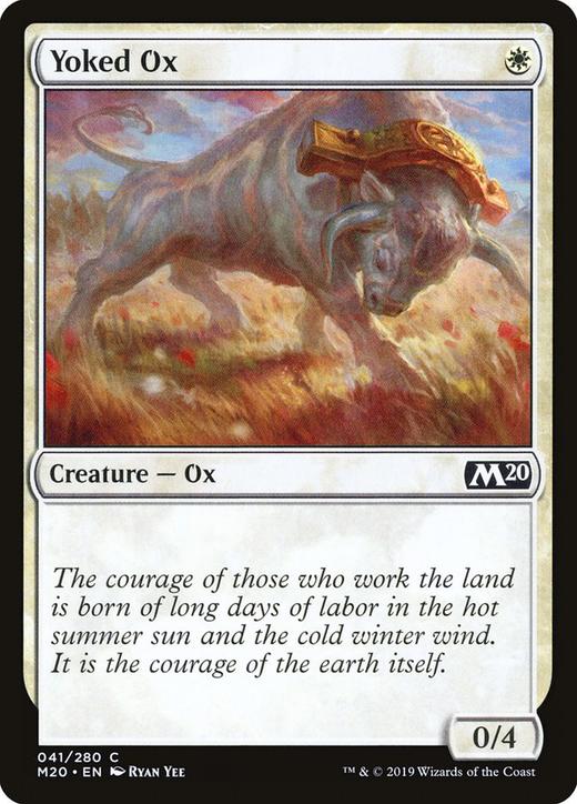Yoked Ox image