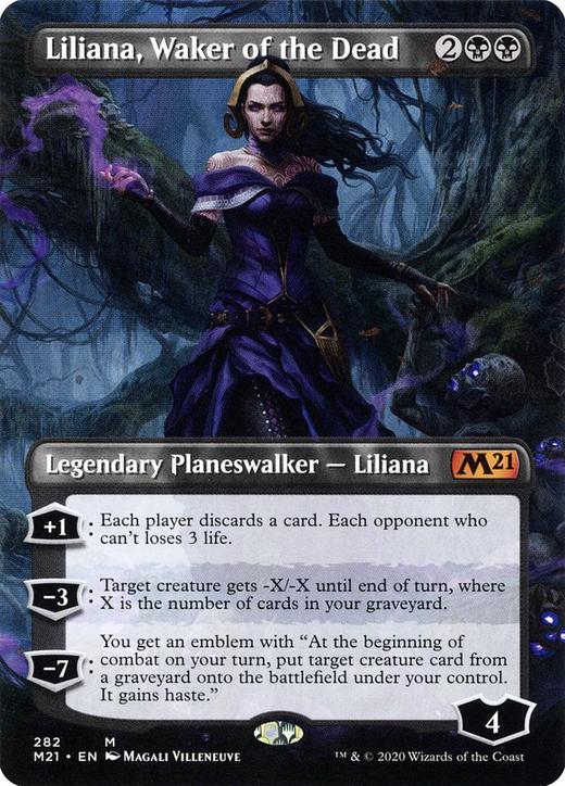 Liliana, Waker of the Dead image