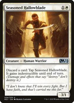Seasoned Hallowblade image