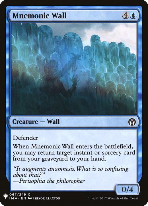 Mnemonic Wall