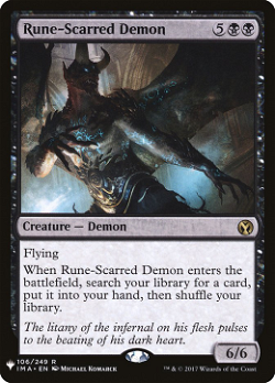 Rune-Scarred Demon image