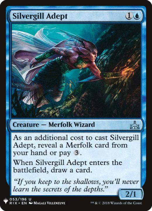 Silvergill Adept image