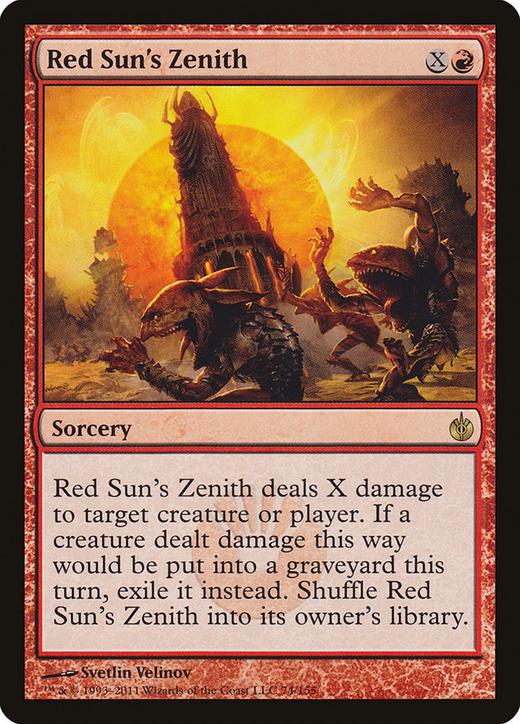 Red Sun's Zenith image